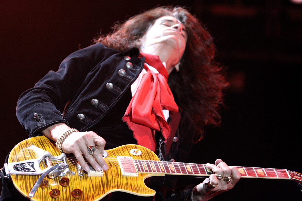 Joe Perry Style Riff & Licks