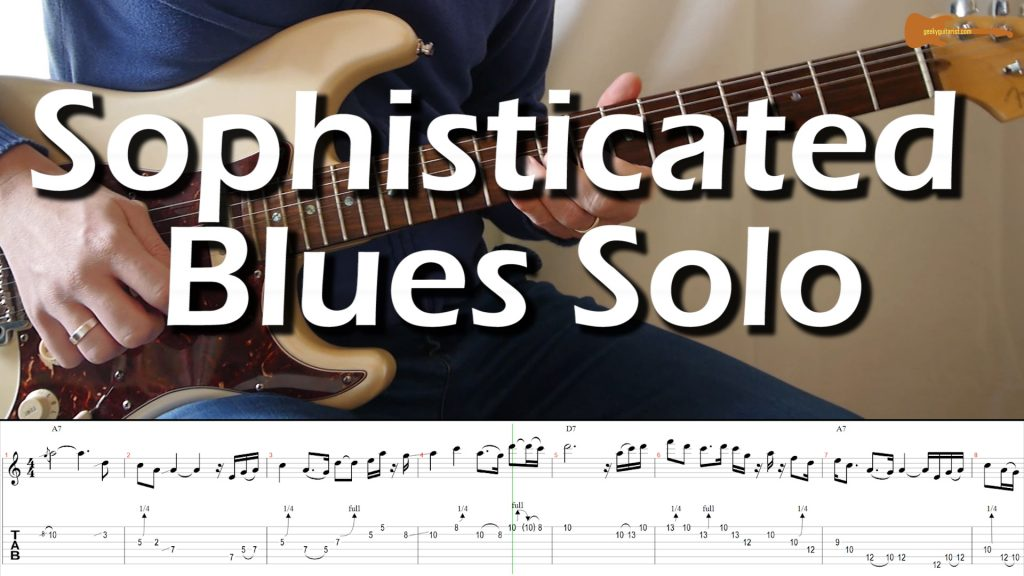 Sophisticated Blues Solo