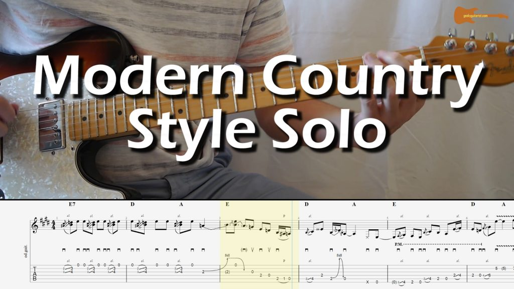 Modern Country Style Solo