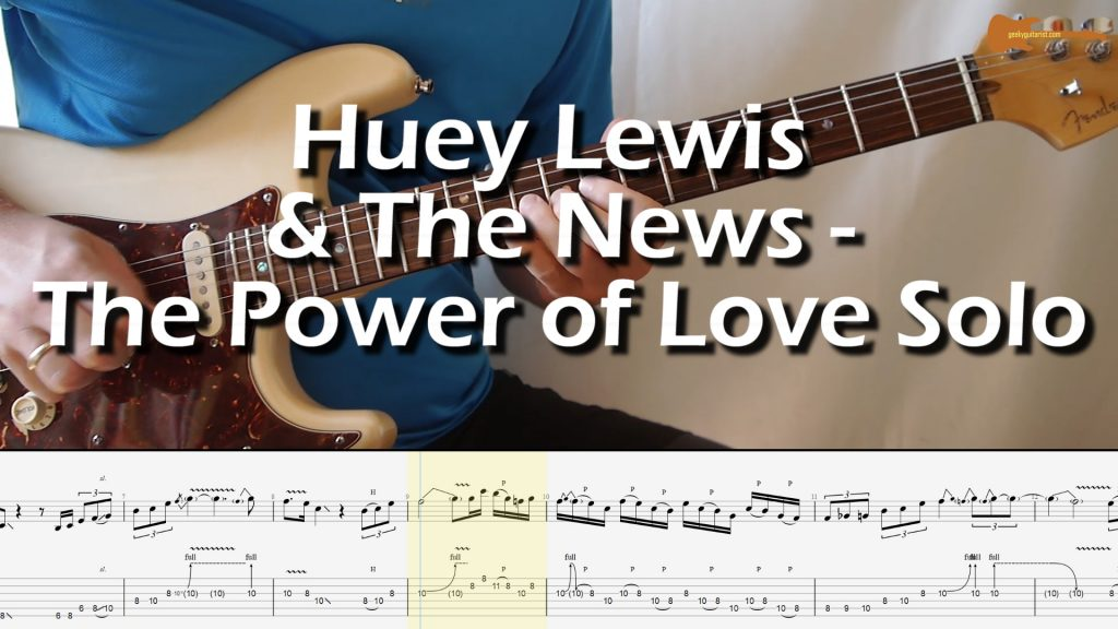 Huey Lewis & The News – The Power of Love Solo
