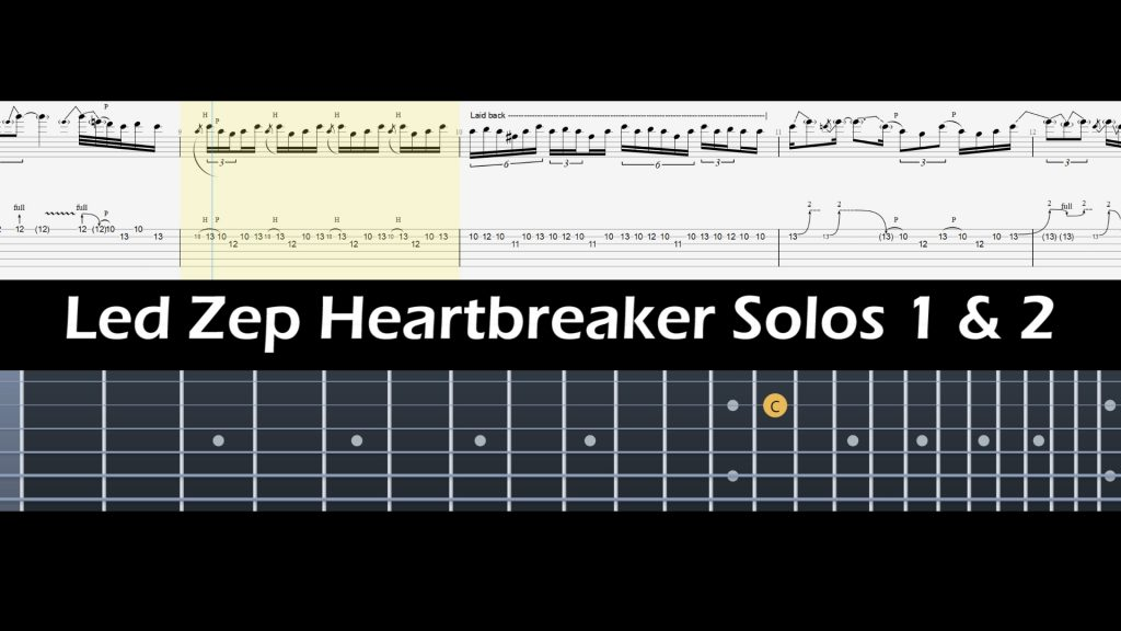 Led Zeppelin Heartbreaker Solos 1 & 2